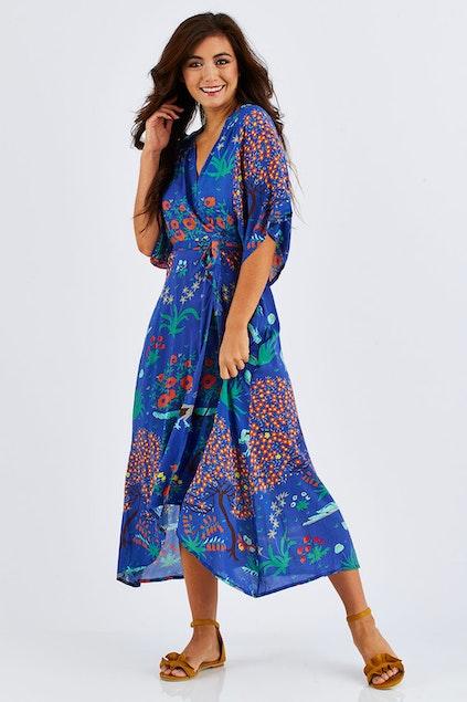 b157b362a7 Honeysuckle Beach Swanson Dress - Womens Calf Length Dresses at ...