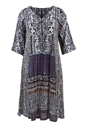 Orientique Aprilia Print Dress