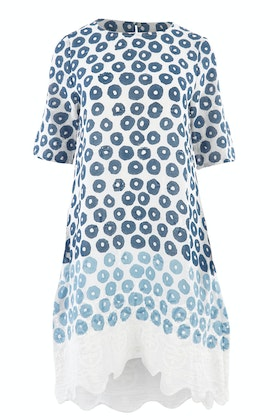Orientique Campania Hand Print Dress