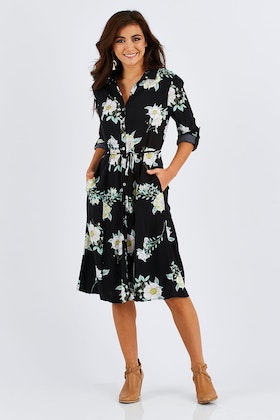 Sass Endless Love Midi Dress