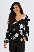 Sass Endless Love Ruffle Blouse