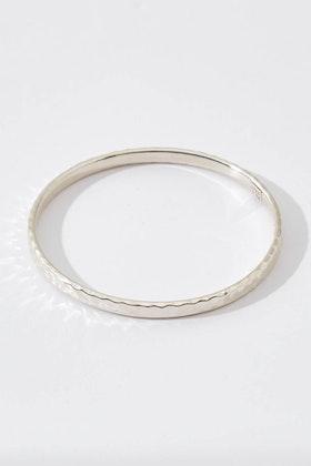 Najo Martillado Sterling Silver Bracelet