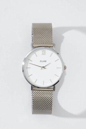 Cluse Watches Minuit Mesh Watch