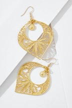 Isle & Tribe Sarai Filigree Earrings