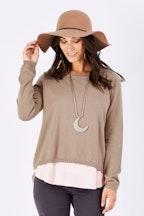 boho bird Layers Of My Heart Sweater