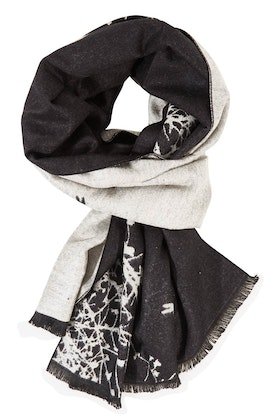 JJ Sisters Cashmere Blend Branches Scarf