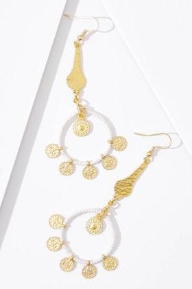 Isle & Tribe Basket Earrings