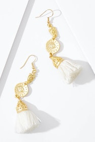 Ishtar Tassel Earrings