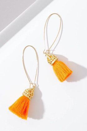 Isle & Tribe Waikiki Tassel Earrings