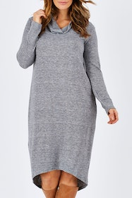 The Roll Neck Dress