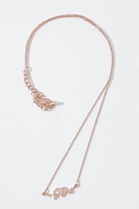 Tiger Tree Love Birds Necklace