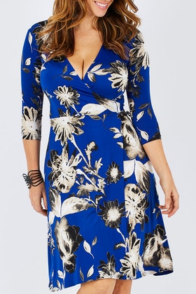 Rebecca Ruby Skylar Wrap Dress