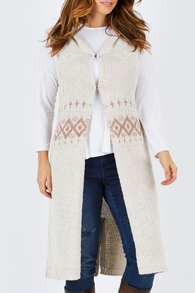 Brave & True Ranch Knitted Vest
