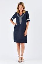 Gordon Smith Emb Dress