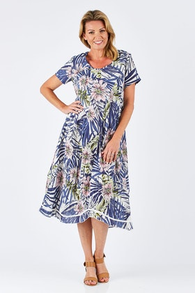 Gordon Smith Floral  Dress