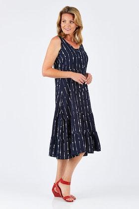 Gordon Smith Sleeveless Dress