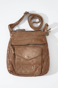 Venice Washed Leather Crossbody Bag