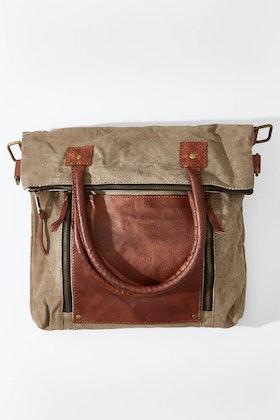 Mona B Fold Over Shoulder Bag