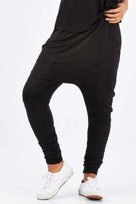 PQ Collection Cuffed Bamboo Drop Pant