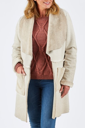 Nest Picks Sherpa Shearling Jacket
