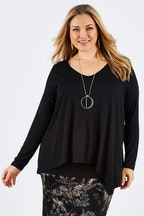 Belle bird Belle V Neck Forgiver Tunic