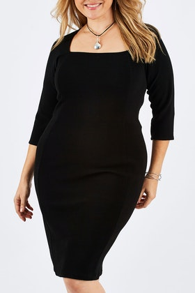 Sacha Drake Iris 3/4 Sleeve Dress