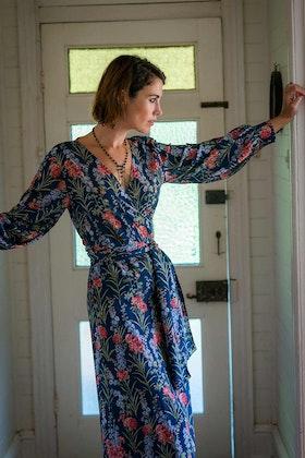 lazybones Nellie Wrap Dress