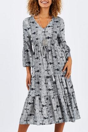 Jump Mircro Stencil Dress