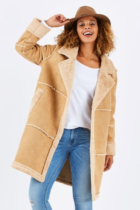 Nest Picks Cheering For Shearling Jacket