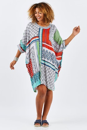 Orientique Tyrol Print Dress