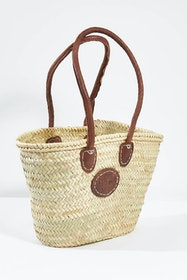 Small Classic Market Basket Bag