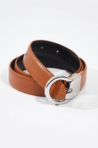 bird keepers The Bella Genuine Reversible Leather Belt