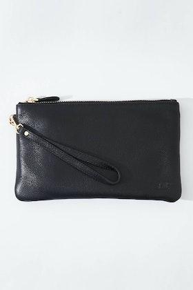 Handbag Butler Mighty Purse Rechargable Wristlet Leather Clutch