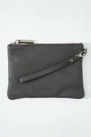 Cassie Leather Clutch Bag