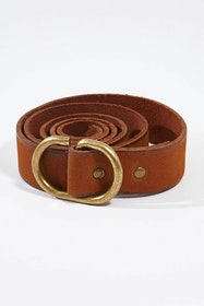 Daisy Leather Belt