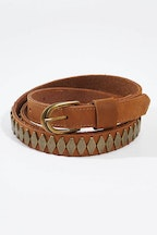 Stitch and Hide Jasmine Leather Belt