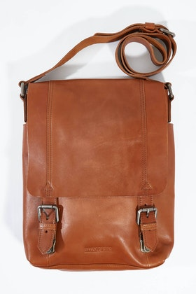 Stitch and Hide Riley Messenger Bag
