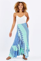 Firefly Hawaii Wrap Skirt