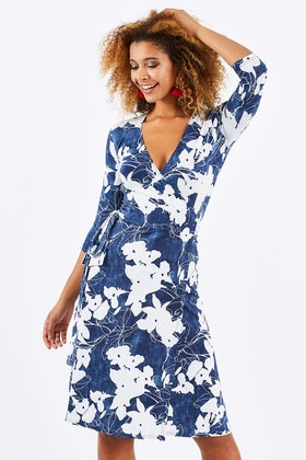 Rebecca Ruby Aubrey Wrap Dress