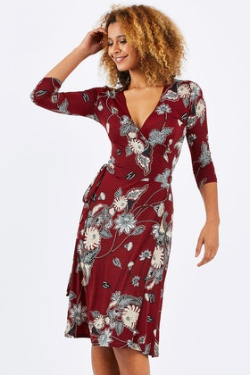 Rebecca Ruby Olivia Wrap Dress