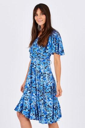 Maiocchi French Flounce Dress