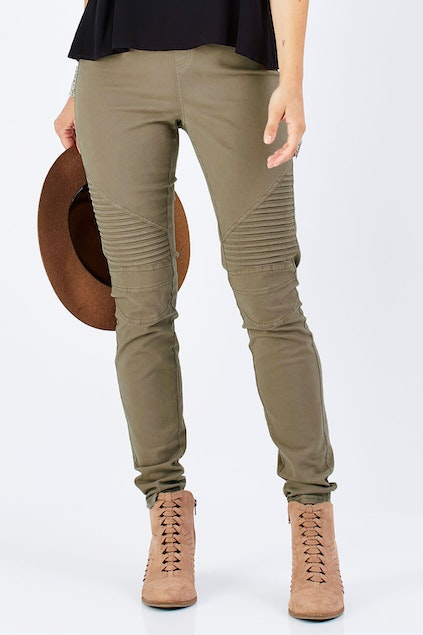 9251fa8cd1dd1 boho bird Wild Tribe Stitched Jeggings - Womens Skinny Jeans at ...