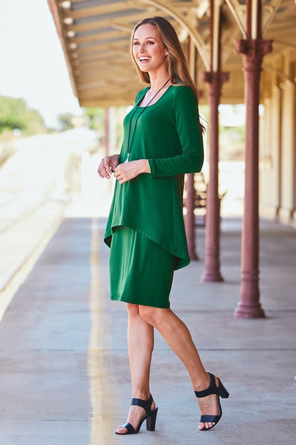 bird keepers The Rita Dress - Womens Knee Length Dresses at ... ca569fa96eb6