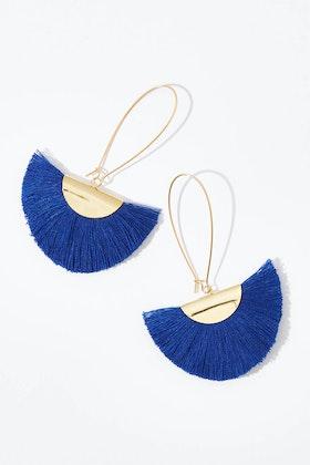 Isle & Tribe Kokomo Tassel Earrings