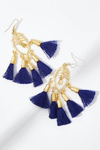 Isle & Tribe Satara Tassel Earrings