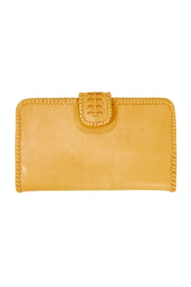 Caravana Chelo Oversized Leather Wallet