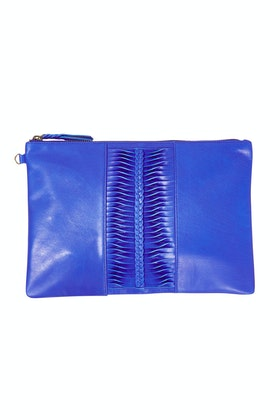 Caravana Benson Leather Clutch