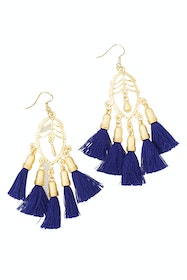 Satara Tassel Earrings