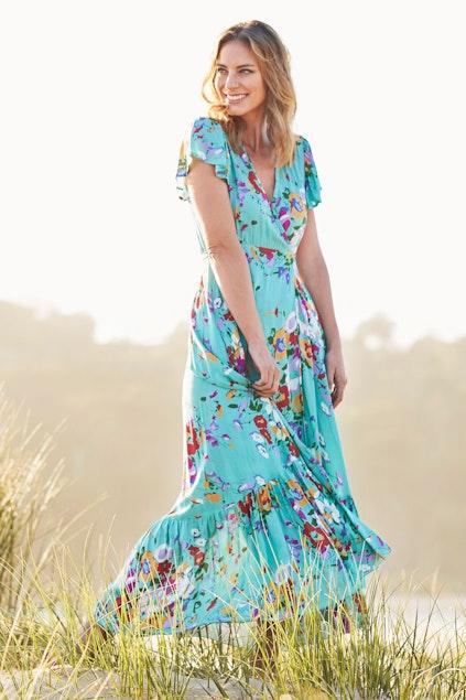 d07b23665dc66 Honeysuckle Beach Margarita Dress - Womens Maxi Dresses - Birdsnest Buy  Online