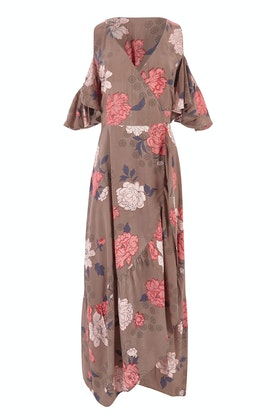boho bird Garden Party Maxi Dress